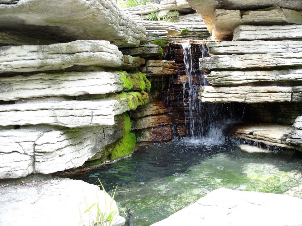 Download Free Stock Photo of Waterfall 4