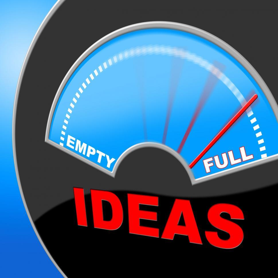 Download Free Stock HD Photo of Full Of Ideas Indicates Indicator Invention And Inventions Online