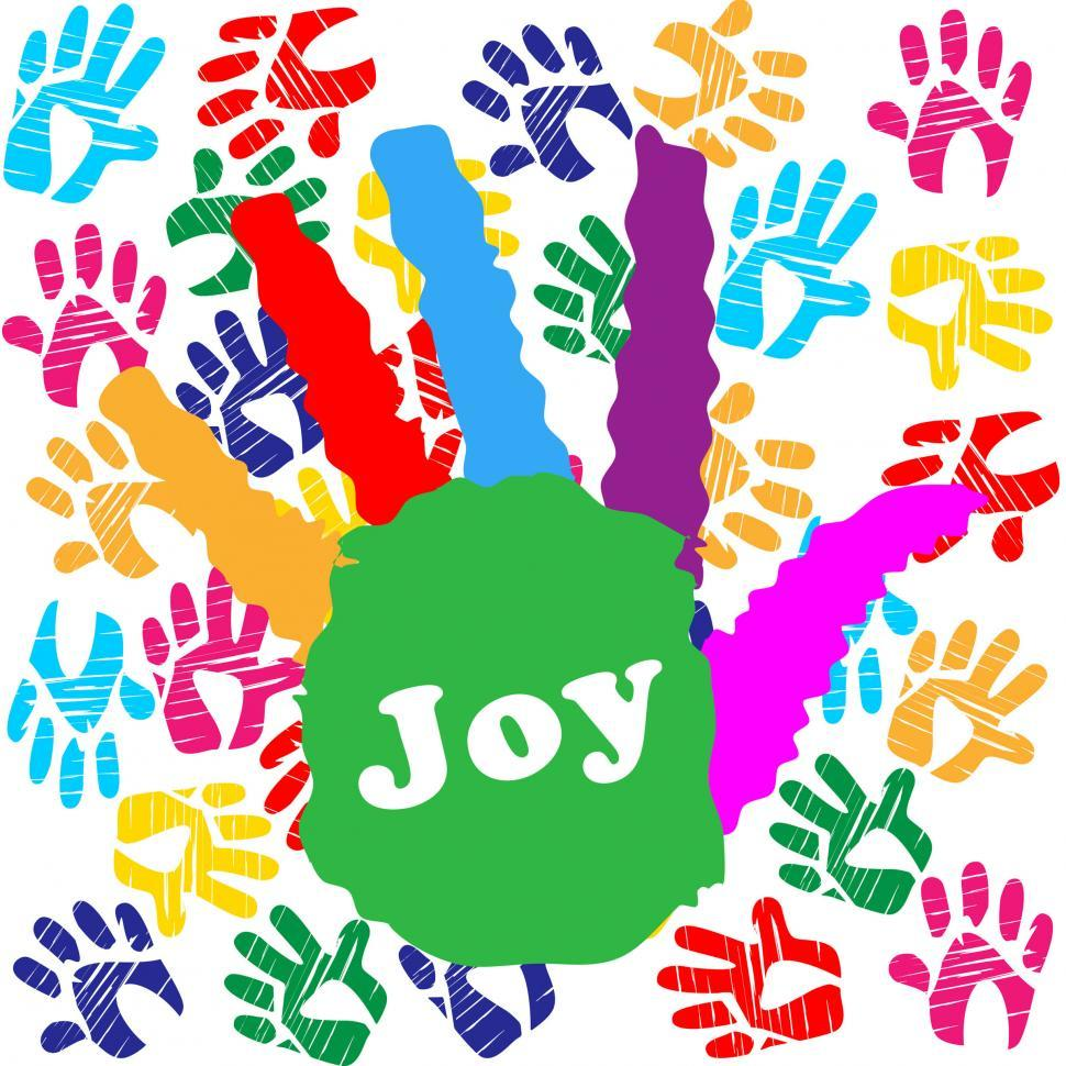 Download Free Stock HD Photo of Kids Joy Means Watercolor Positive And Colors Online