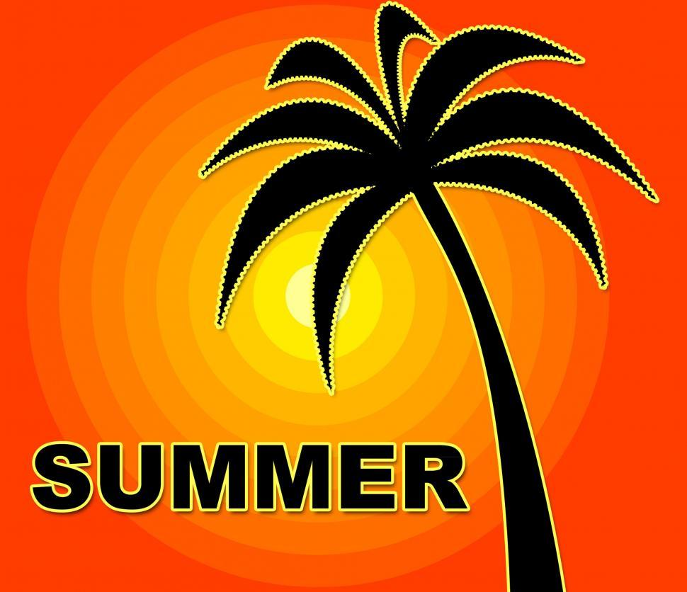 Download Free Stock HD Photo of Summer Time Indicates Season Positive And Warmth Online