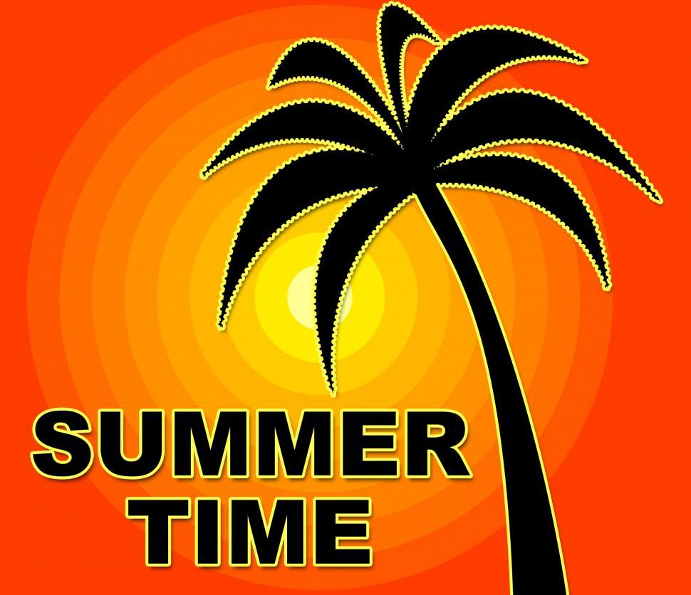 Download Free Stock Photo of Summer Time Means Happy Summertime And Warmth