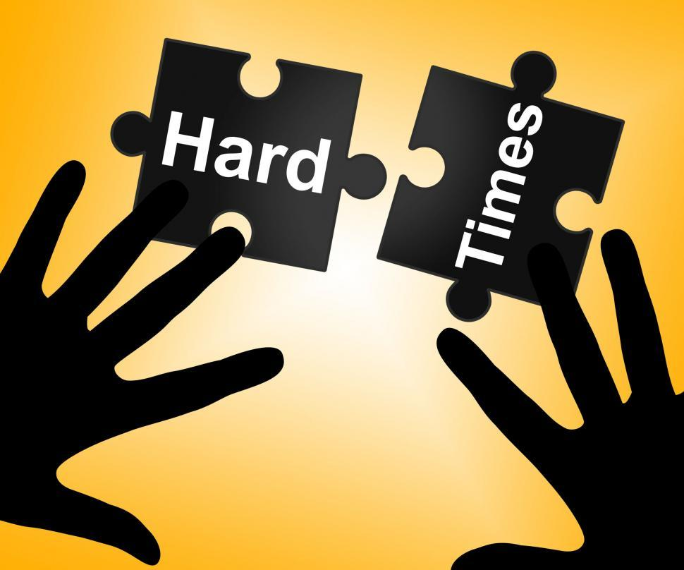 Download Free Stock HD Photo of Hard Times Indicates Overcome Obstacles And Challenge Online