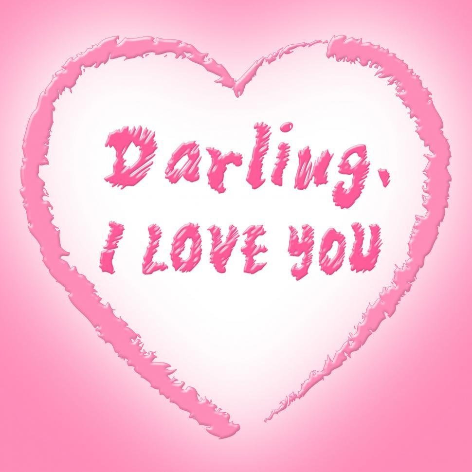 Download Free Stock HD Photo of I Love You Represents Darling Passion And Devotion Online