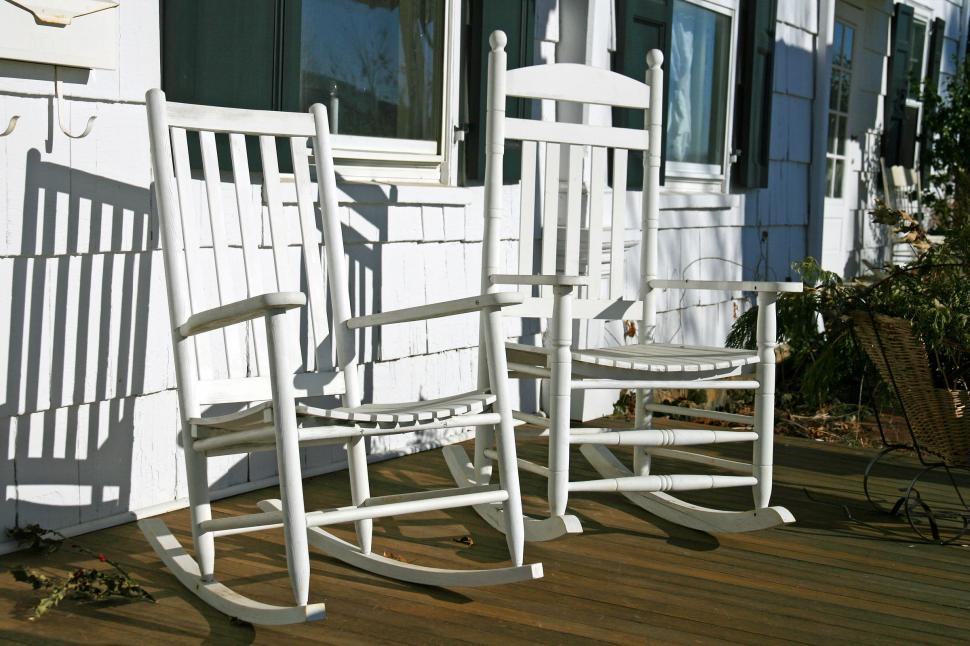 Download Free Stock HD Photo of Rocking Chairs  Online