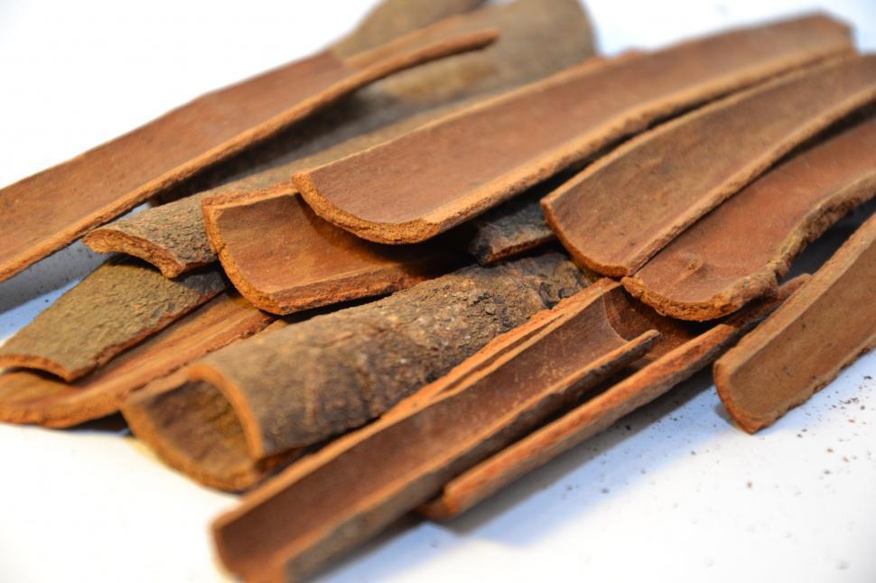 Download Free Stock Photo of Cinnamon sticks