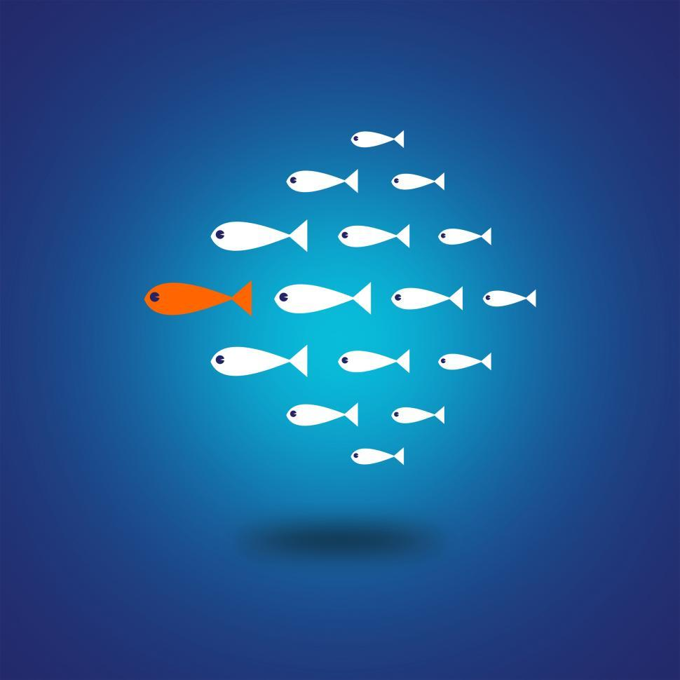 Download Free Stock HD Photo of Follow the Leader - Leadership Concept  Online