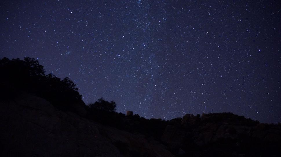 Download Free Stock HD Photo of A Starry Night  Online
