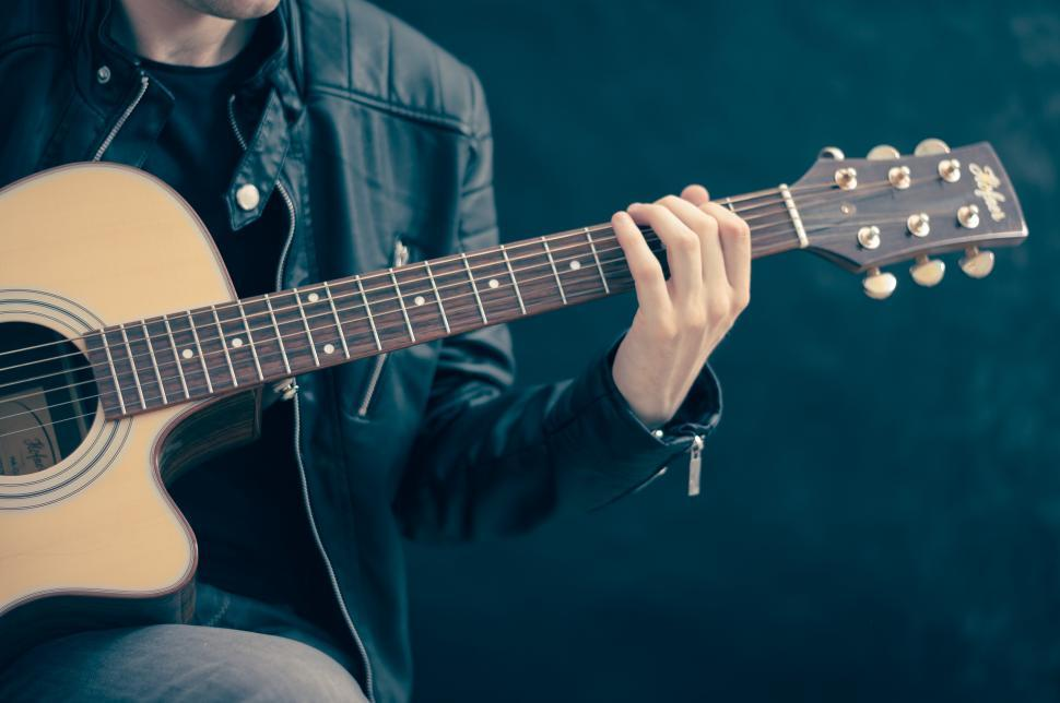 Download Free Stock HD Photo of Guitar player Online