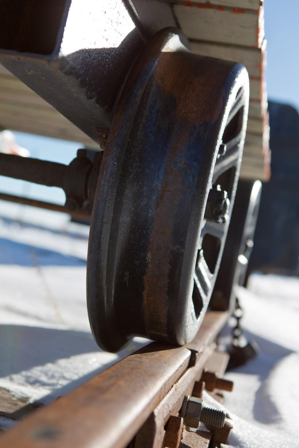 Download Free Stock HD Photo of Train Wheel Online