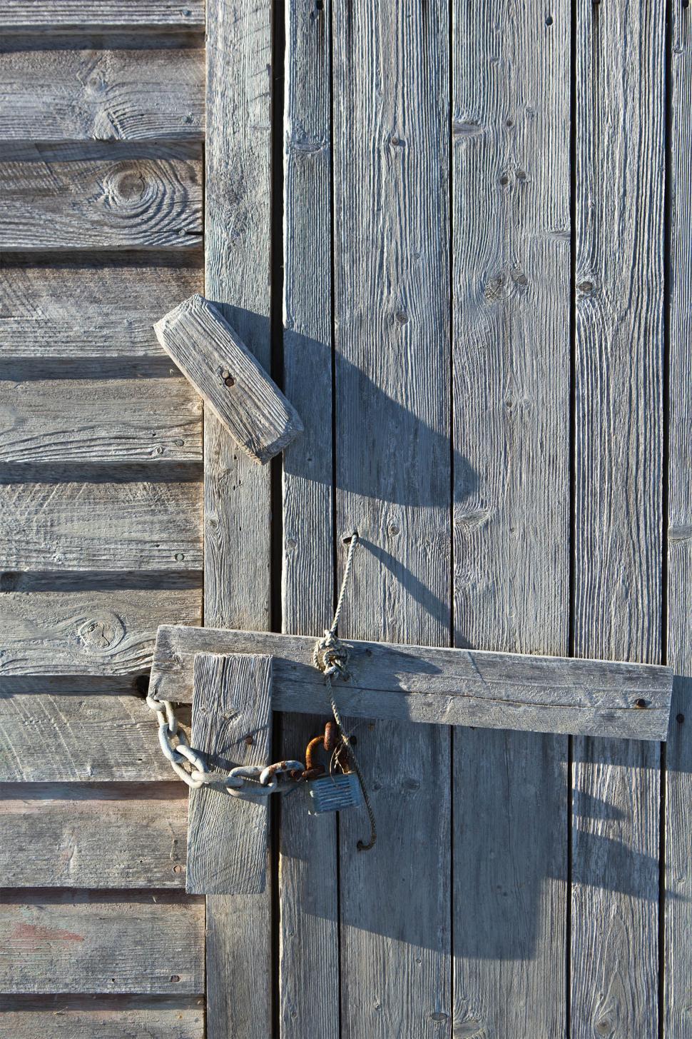 Download Free Stock Photo of Latch on Door