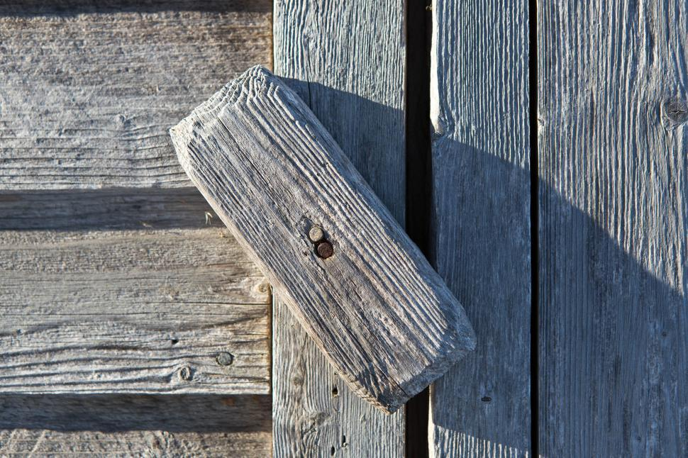 Download Free Stock Photo of Wooden Latch