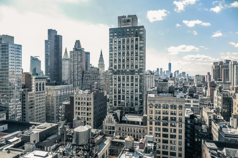 Download Free Stock HD Photo of Skyscrapers in NYC Online
