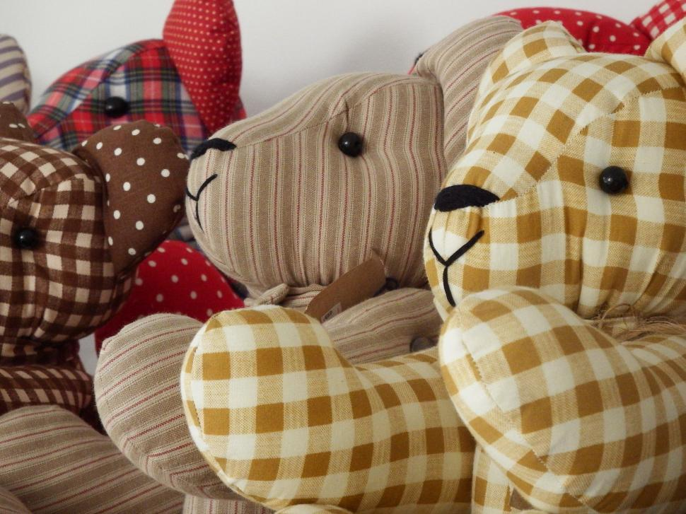 Download Free Stock HD Photo of Handmade Teddy Bears  Online