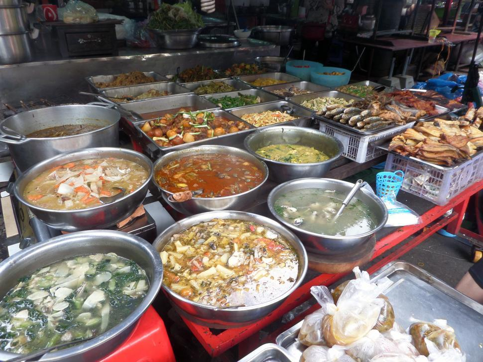 Download Free Stock Photo of Prepared Cambodian food