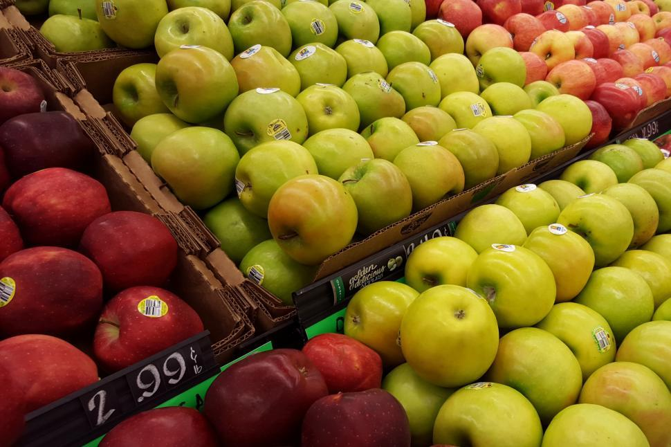 Download Free Stock Photo of Three Kinds of Apples