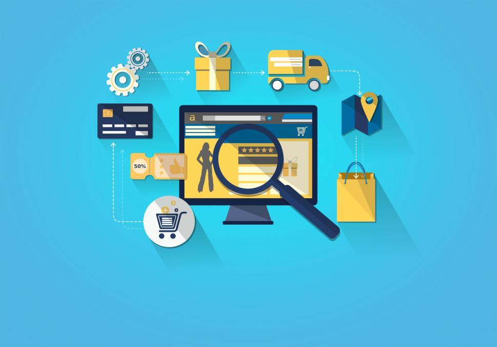Download Free Stock HD Photo of Online Shopping - Shopping on Desktop Online