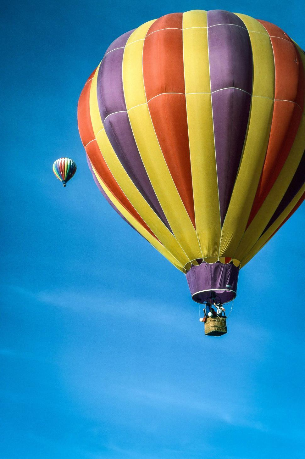 Download Free Stock Photo of Hot-air balloons