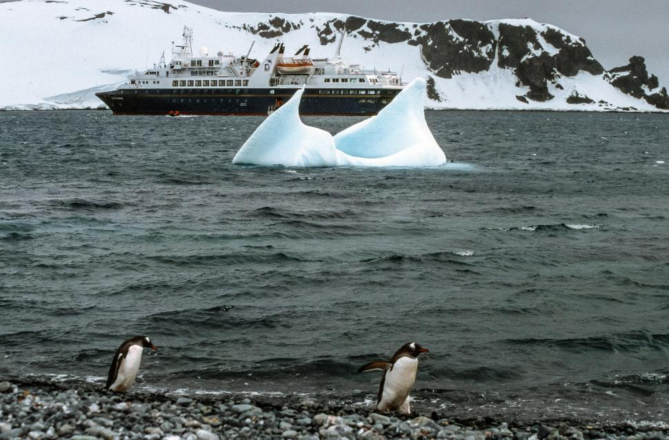 Download Free Stock HD Photo of General view of Antarctica Online