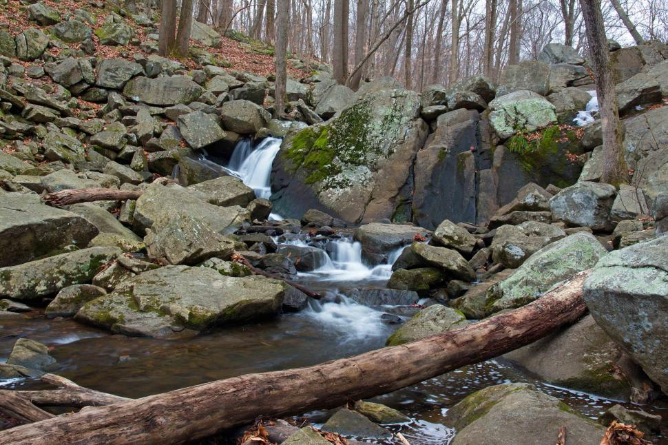 Download Free Stock Photo of Hacklebarney State Park Cascading Waterfalls