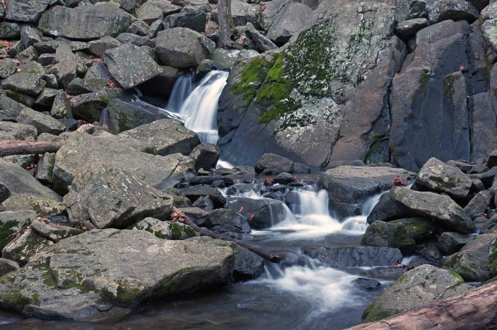 Download Free Stock Photo of Waterfall at Hacklebarney State Park New Jersey