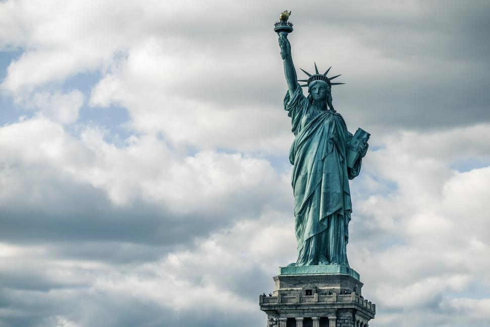 Download Free Stock Photo of Statue of Liberty and Torch
