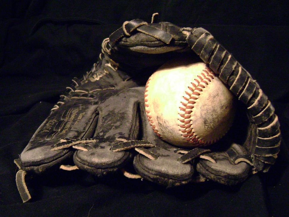 Download Free Stock HD Photo of Baseball Glove Online