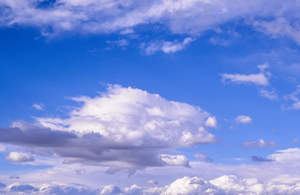 Download Free Stock HD Photo of White Fluffy Clouds Online