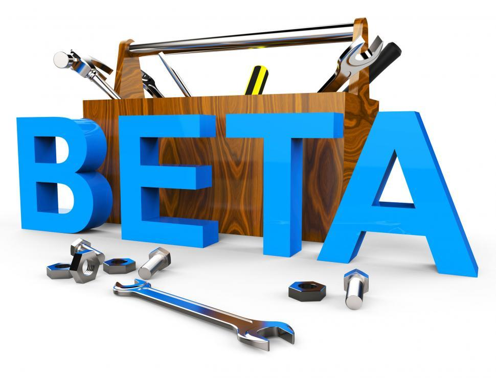 Download Free Stock HD Photo of Beta Software Means Test Freeware And Develop Online