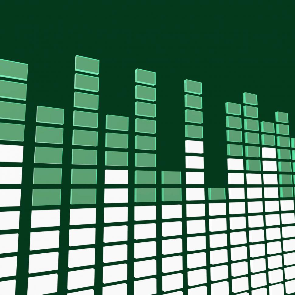 Download Free Stock HD Photo of Music Equaliser Means Sound Track And Amplifier Online
