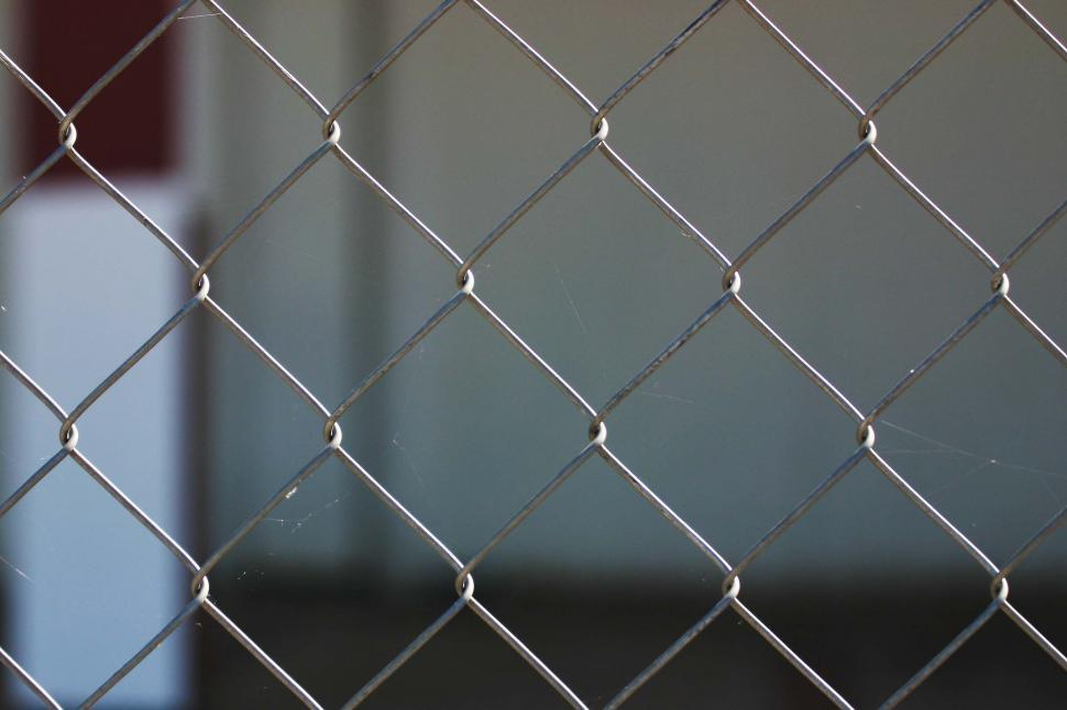 Download Free Stock HD Photo of Chain link fence background Online