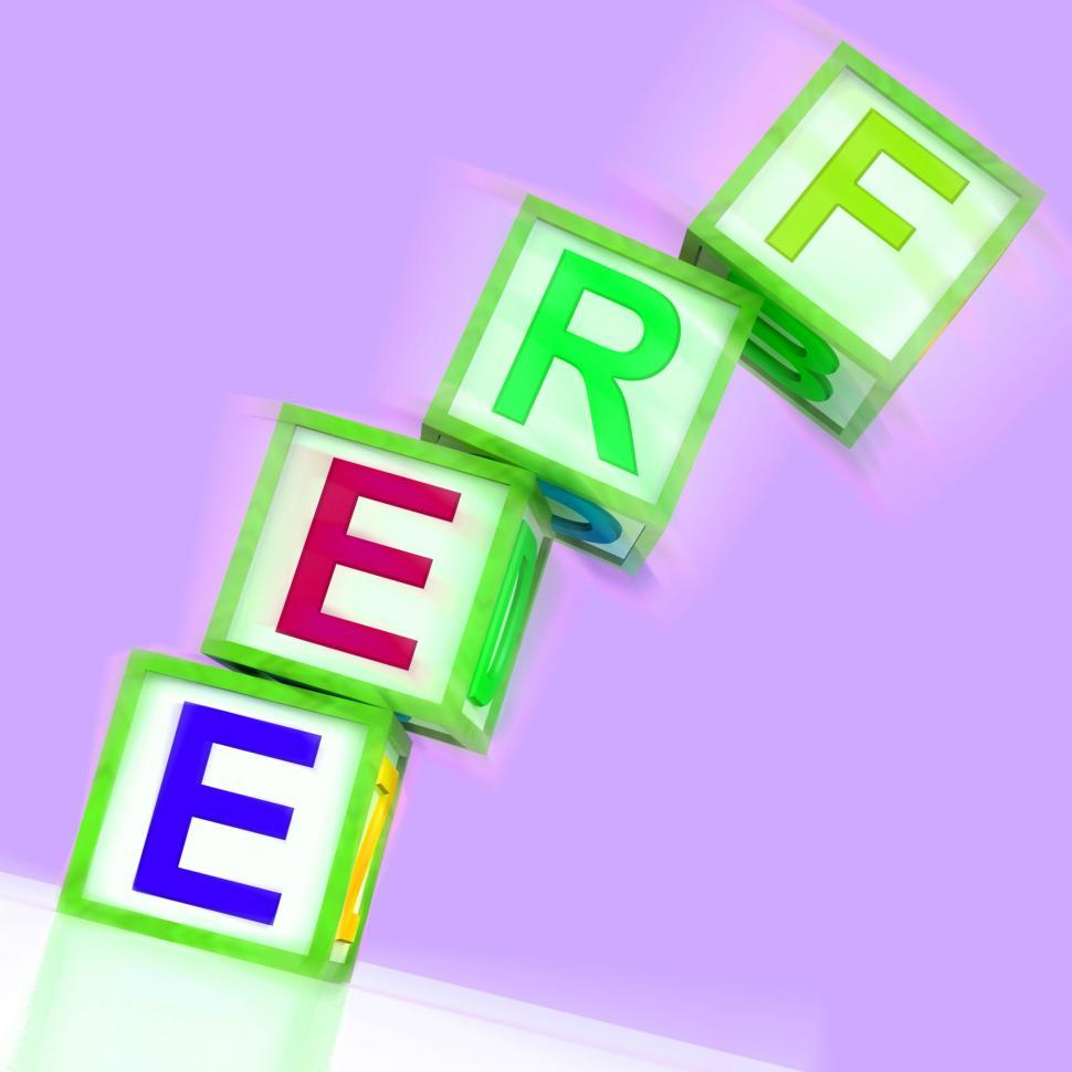 Download Free Stock Photo of Free Word Mean Gratis Or Without Charge