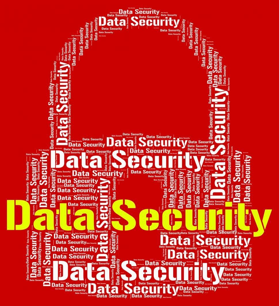 Download Free Stock HD Photo of Data Security Indicates Protected Login And Privacy Online
