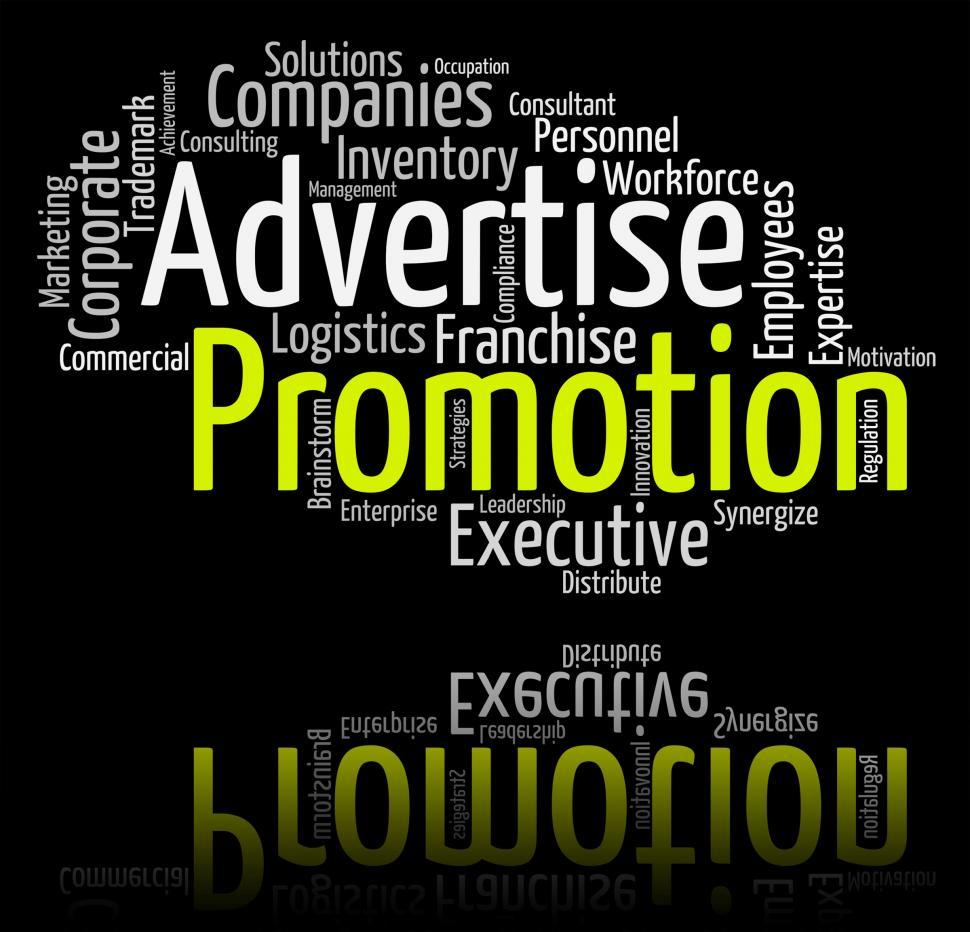 Download Free Stock HD Photo of Promotion Word Indicates Promotional Discounts And Discount Online