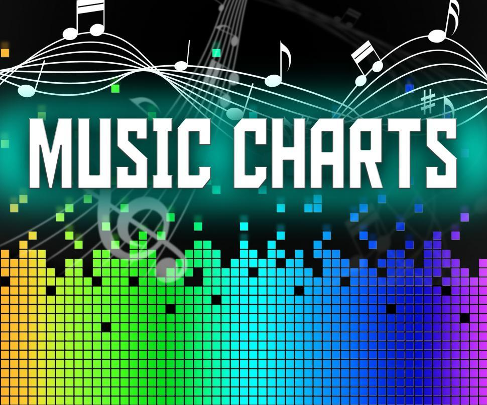 Download Free Stock HD Photo of Chart Music Represents Sound Track And Charts Online