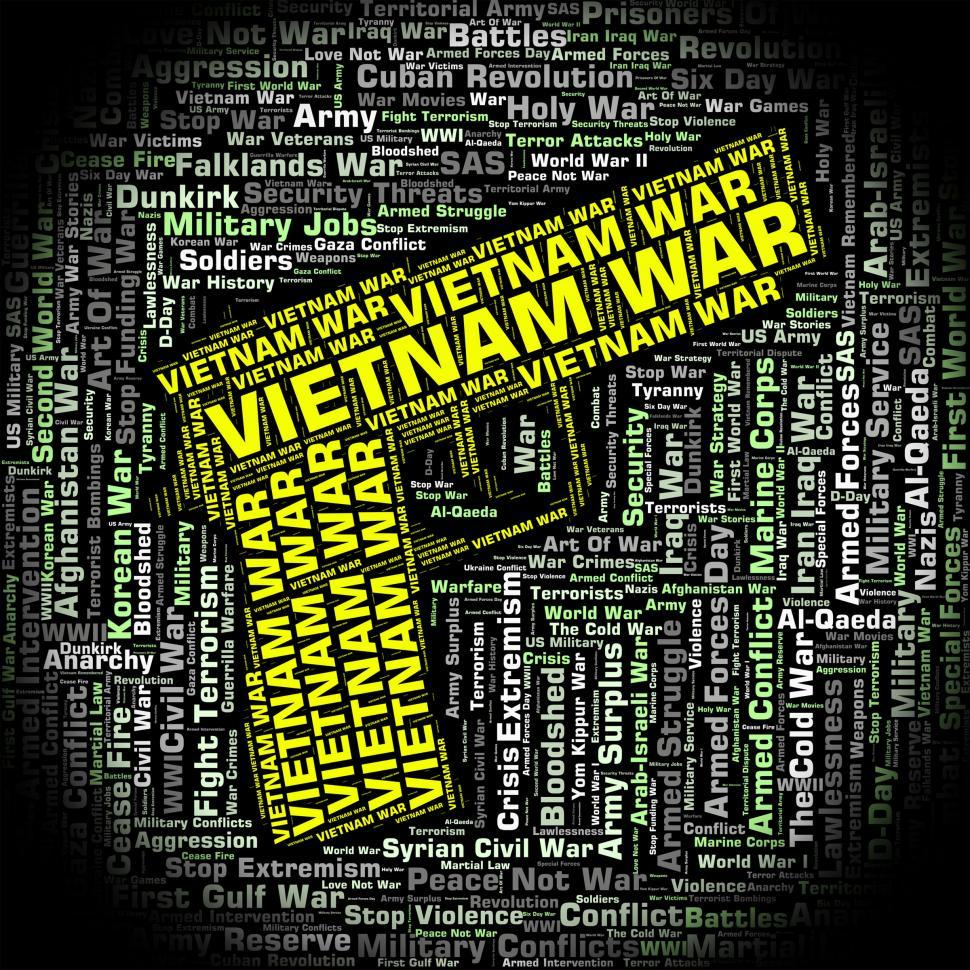 Download Free Stock Photo of Vietnam War Represents North Vietnamese Army And Combat
