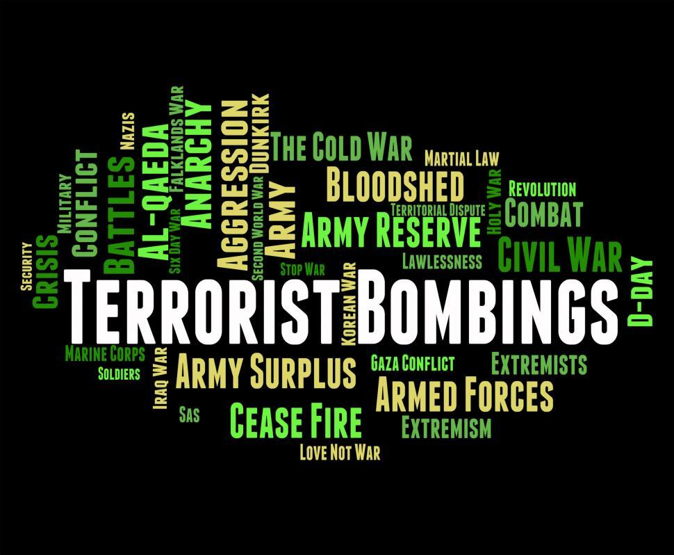 Download Free Stock Photo of Terrorist Bombings Shows Freedom Fighters And Assassin