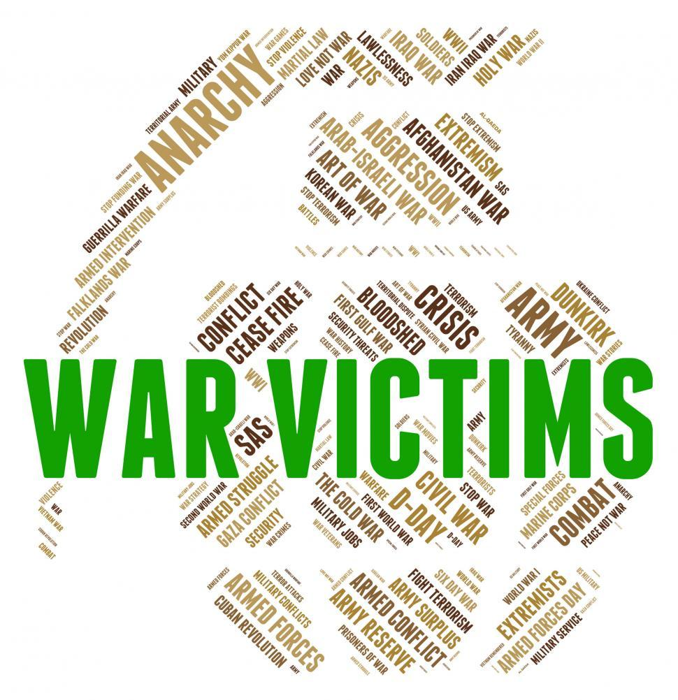 Download Free Stock HD Photo of War Victims Means Dead Person And Casualty Online
