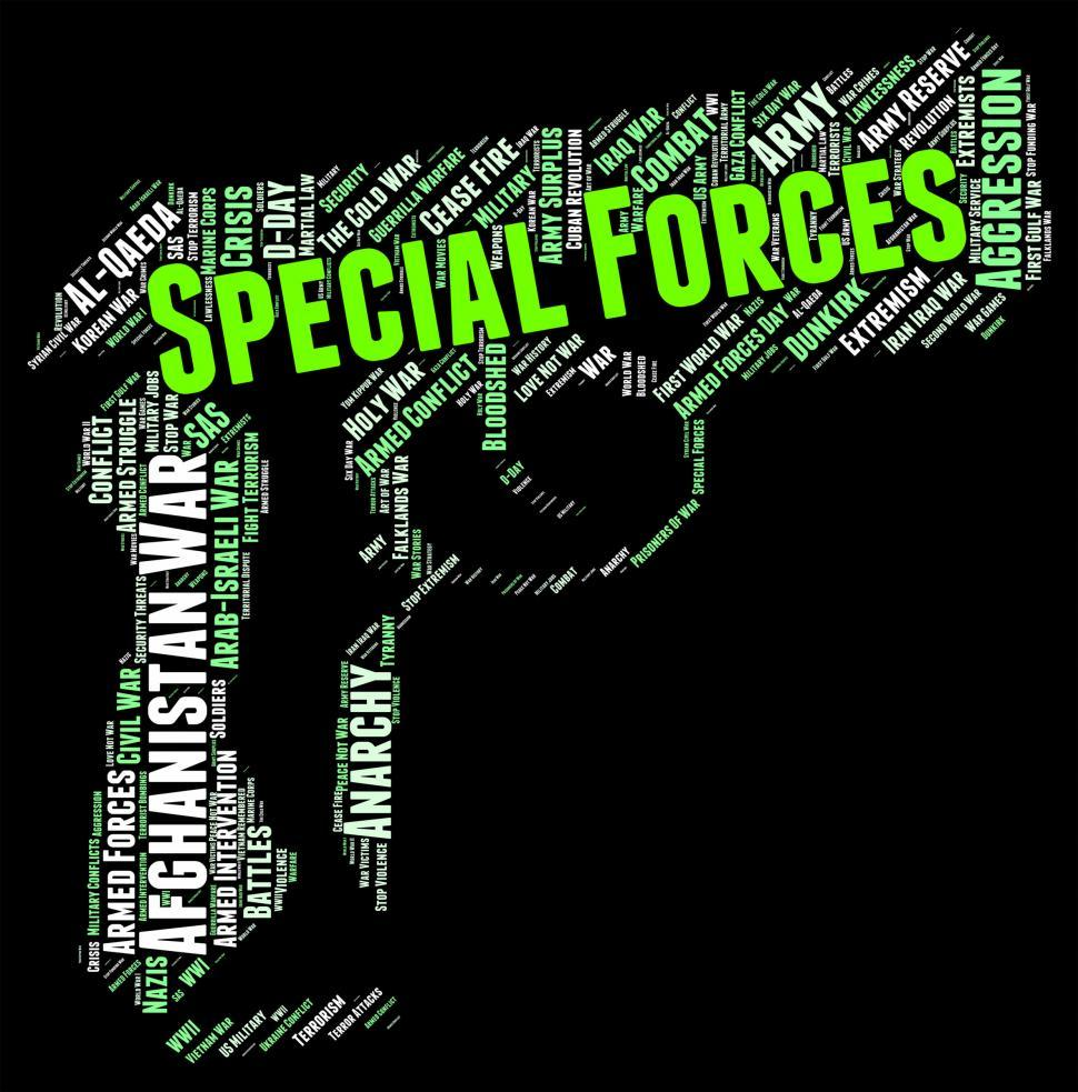 Download Free Stock HD Photo of Special Forces Shows High Value And Direct Online