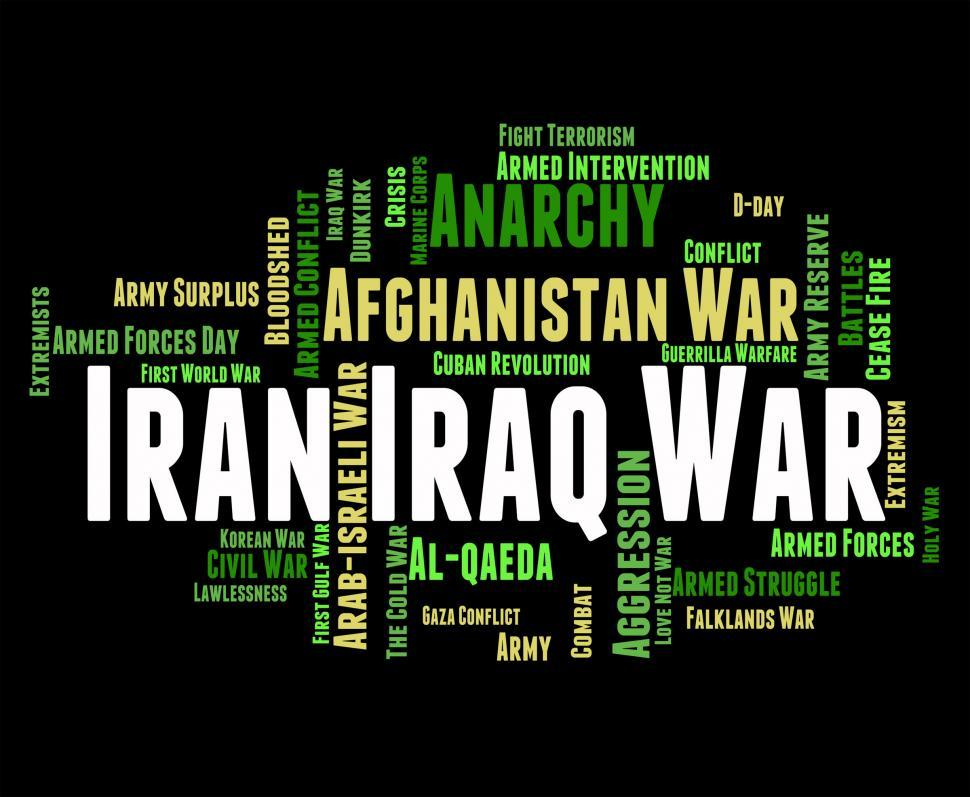 Download Free Stock HD Photo of Iran Iraq War Means Military Action And Iranian Online