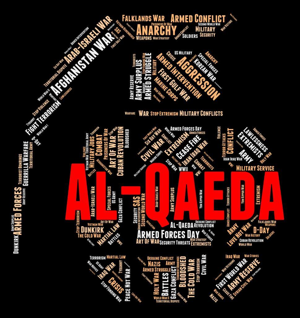 Download Free Stock Photo of Al-Qaeda Word Indicates Freedom Fighter And Al-Qaida