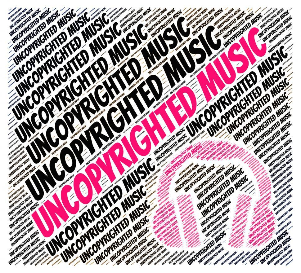 Download Free Stock HD Photo of Uncopyrighted Music Indicates Intellectual Property Rights And C Online