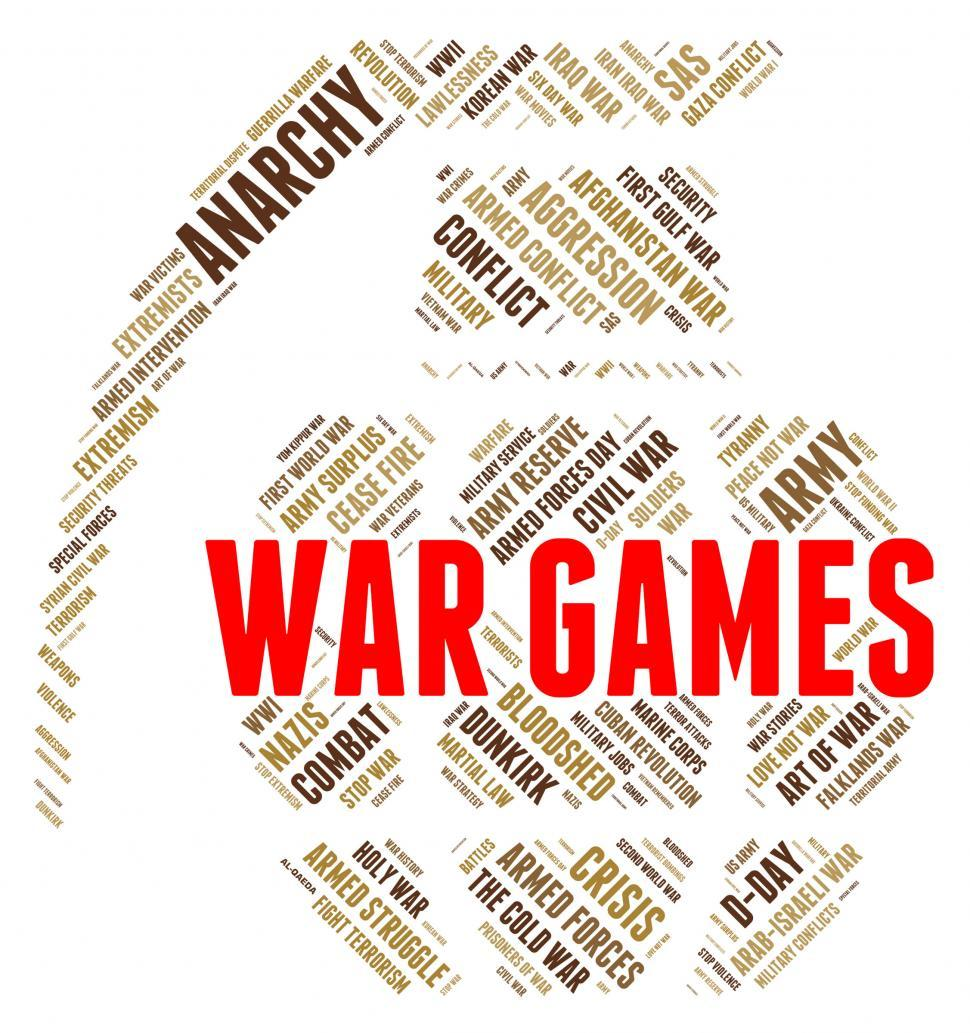 Download Free Stock Photo of War Games Shows Entertainment Playing And Bloodshed