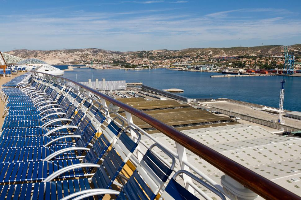 Download Free Stock HD Photo of Cruise Ship Docked Online