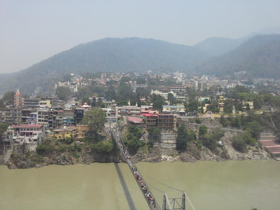 Download Free Stock Photo of A town in Himalayan Valley