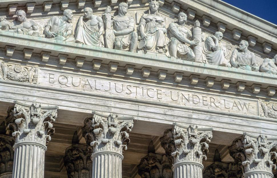 Download Free Stock Photo of Equal Justice Under Law
