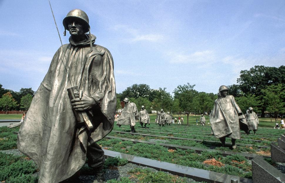 Download Free Stock Photo of Korean War Veterans Memorial