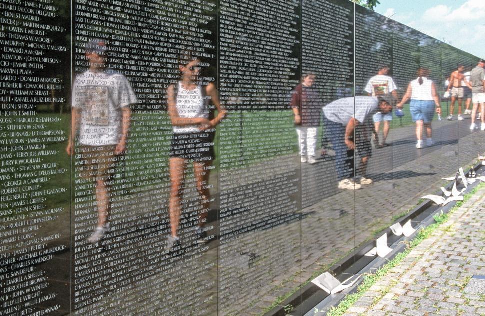 Download Free Stock Photo of Vietnam Veterans Memorial