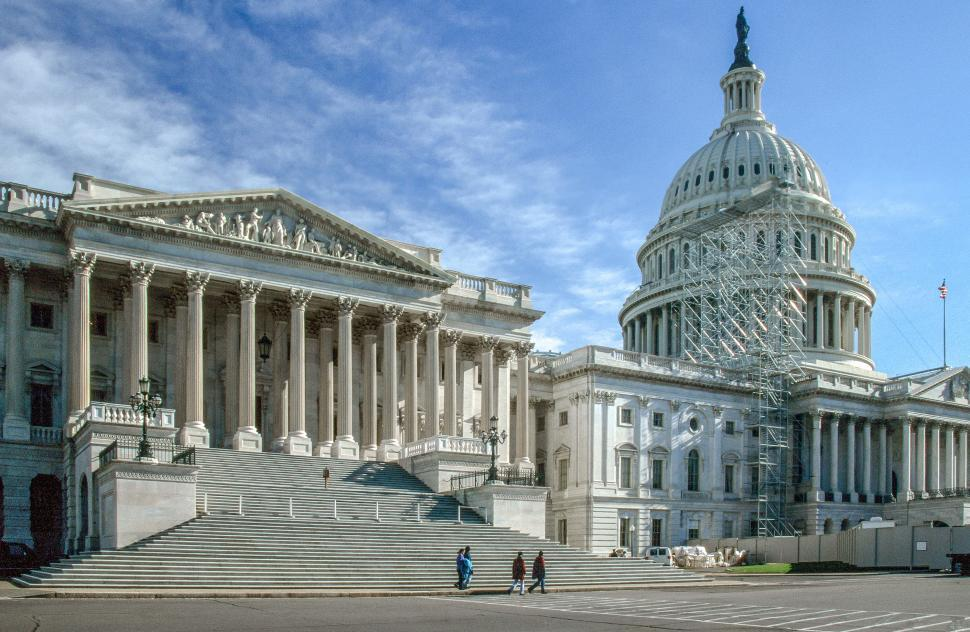 Download Free Stock Photo of United States Supreme Court Building