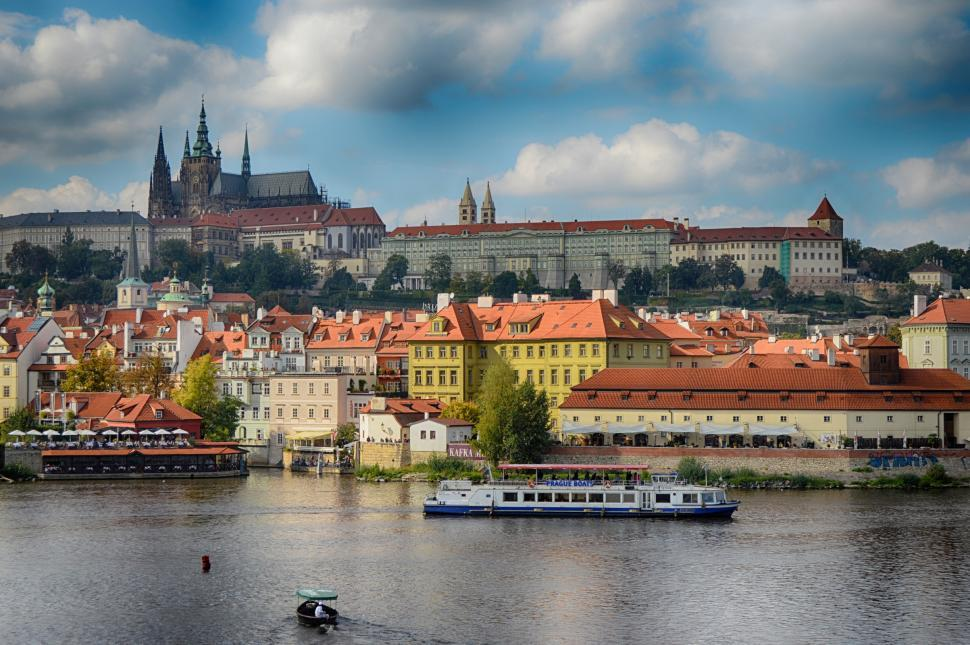 Download Free Stock Photo of Prague Old Royal Palace Castle view