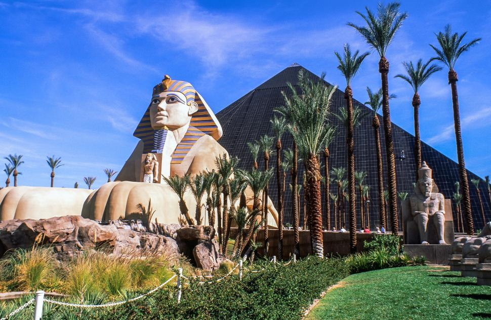 Download Free Stock Photo of Replica of The Great Sphinx of Giza